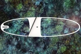Loeva see through standup paddleboard 12