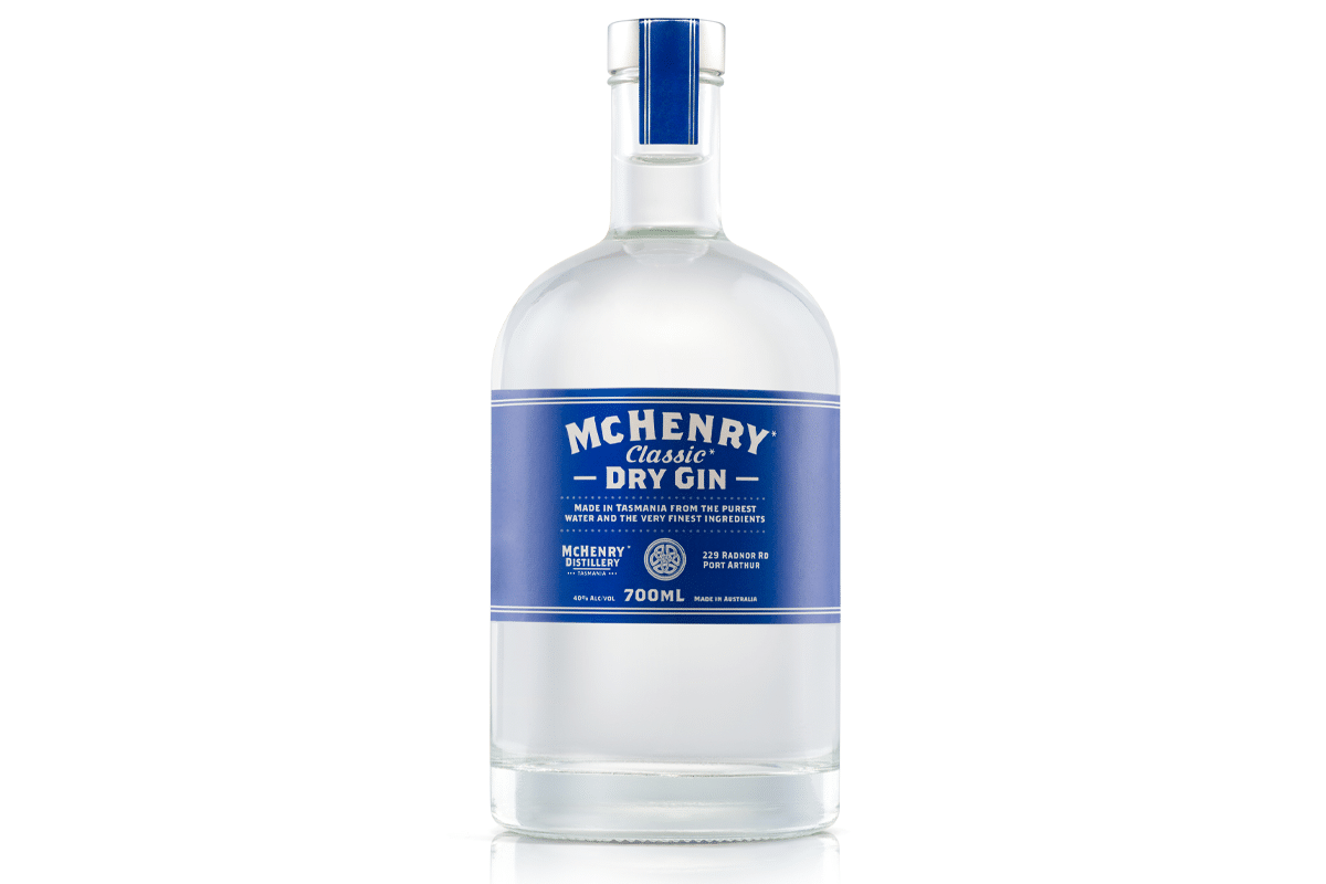 Mchenry classic dry australian gin