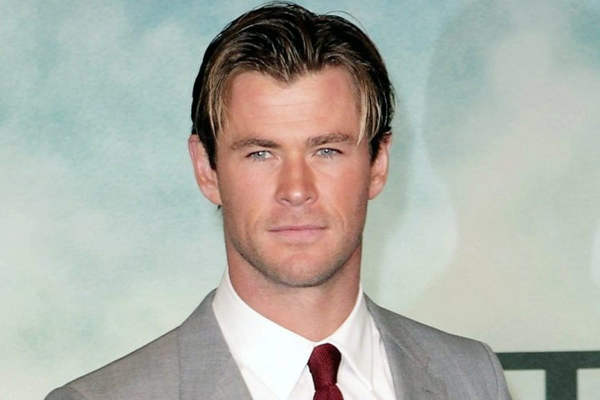 Middle part hairstyles for men 3
