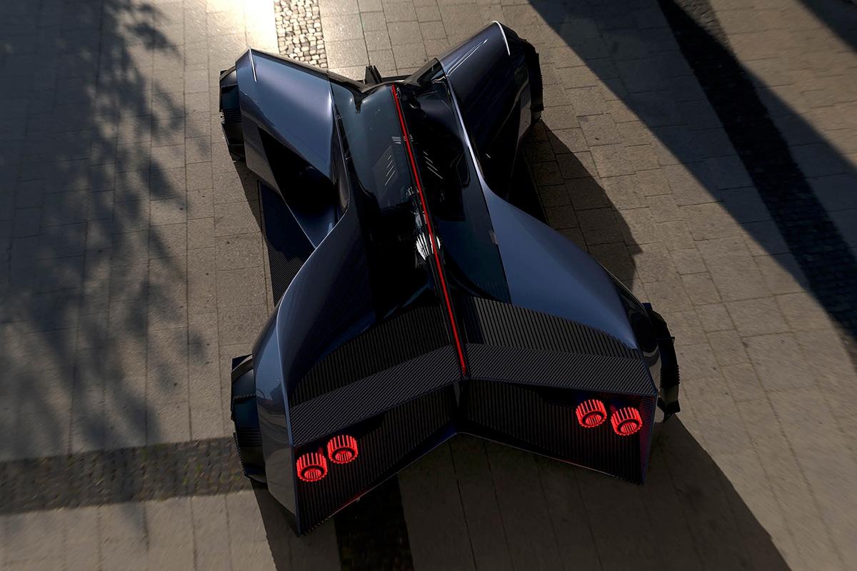 Nissan gt r x 2050 concept 1