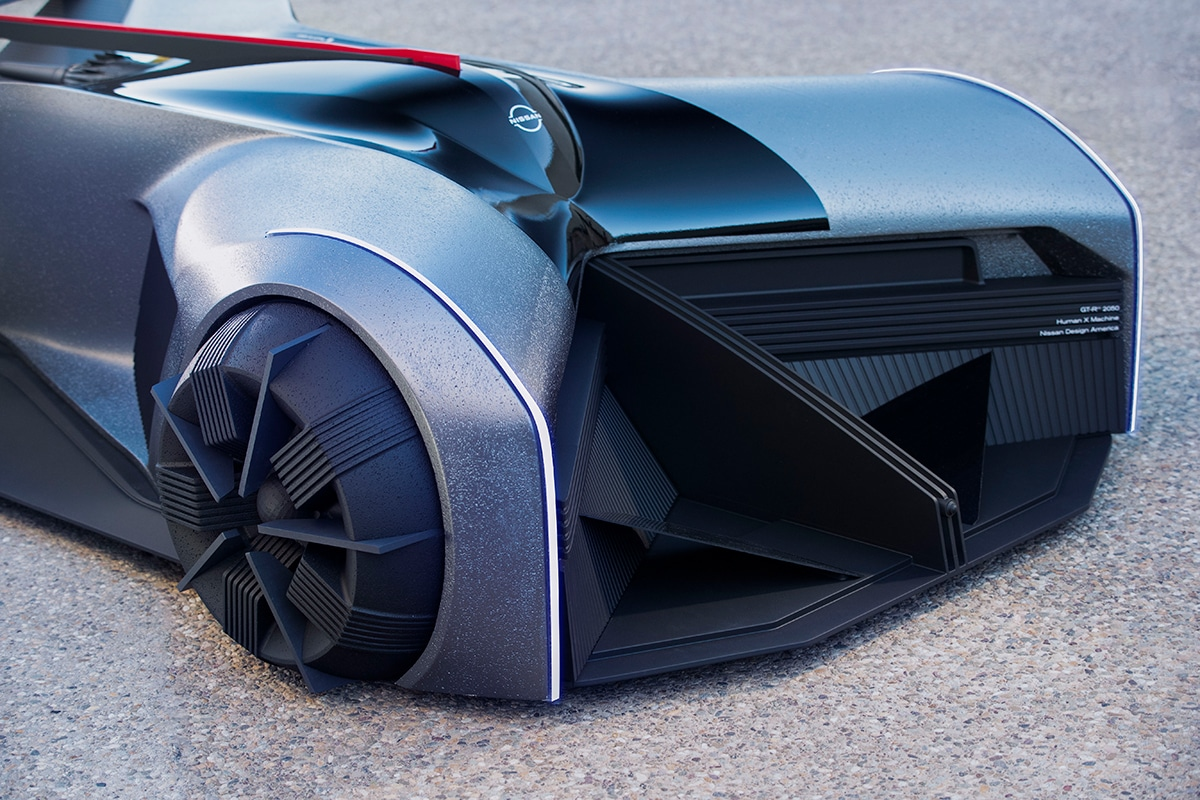 Nissan gt r x 2050 concept 10