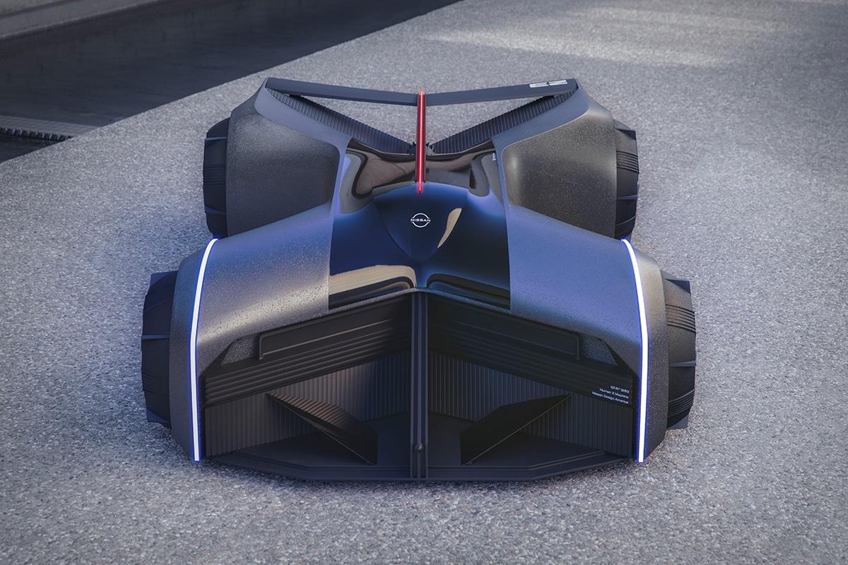 Nissan gt r x 2050 concept 6