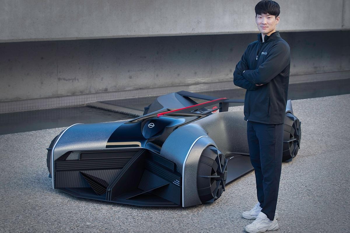 Nissan gt r x 2050 concept 7