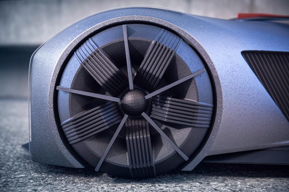 Nissan gt r x 2050 concept 8