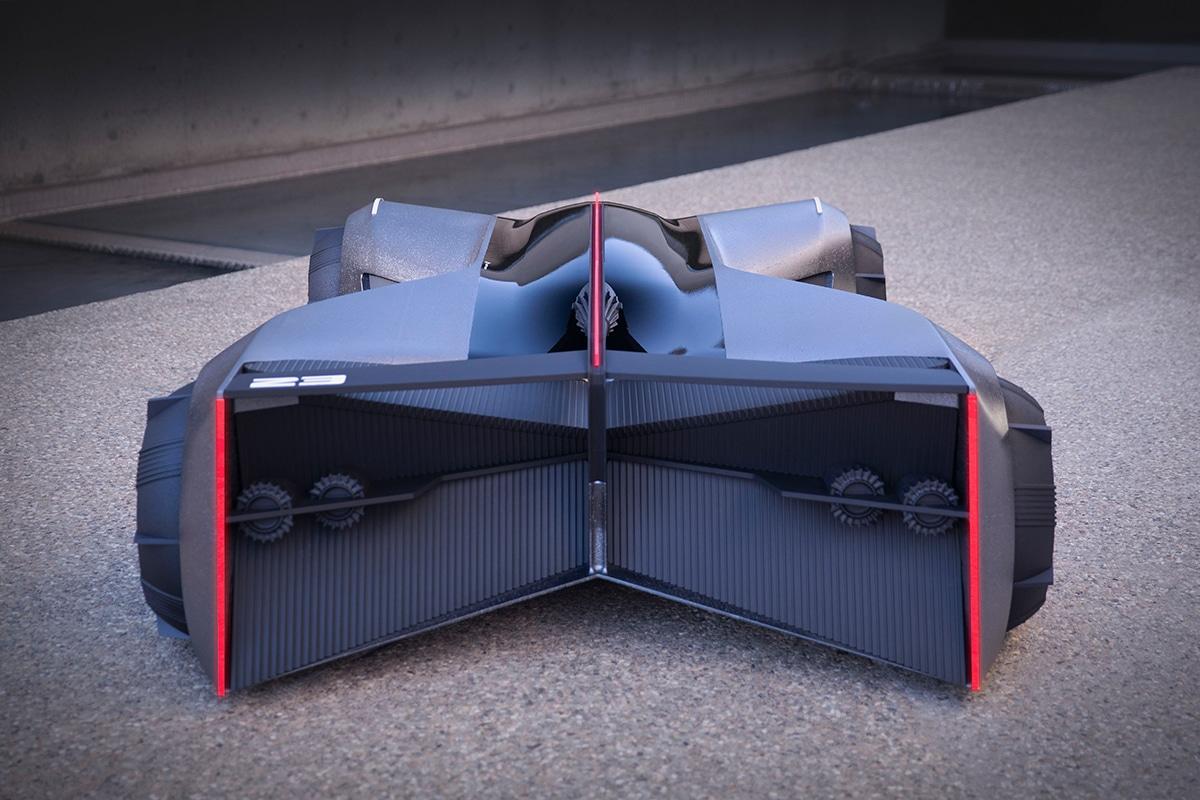 Nissan gt r x 2050 concept 9