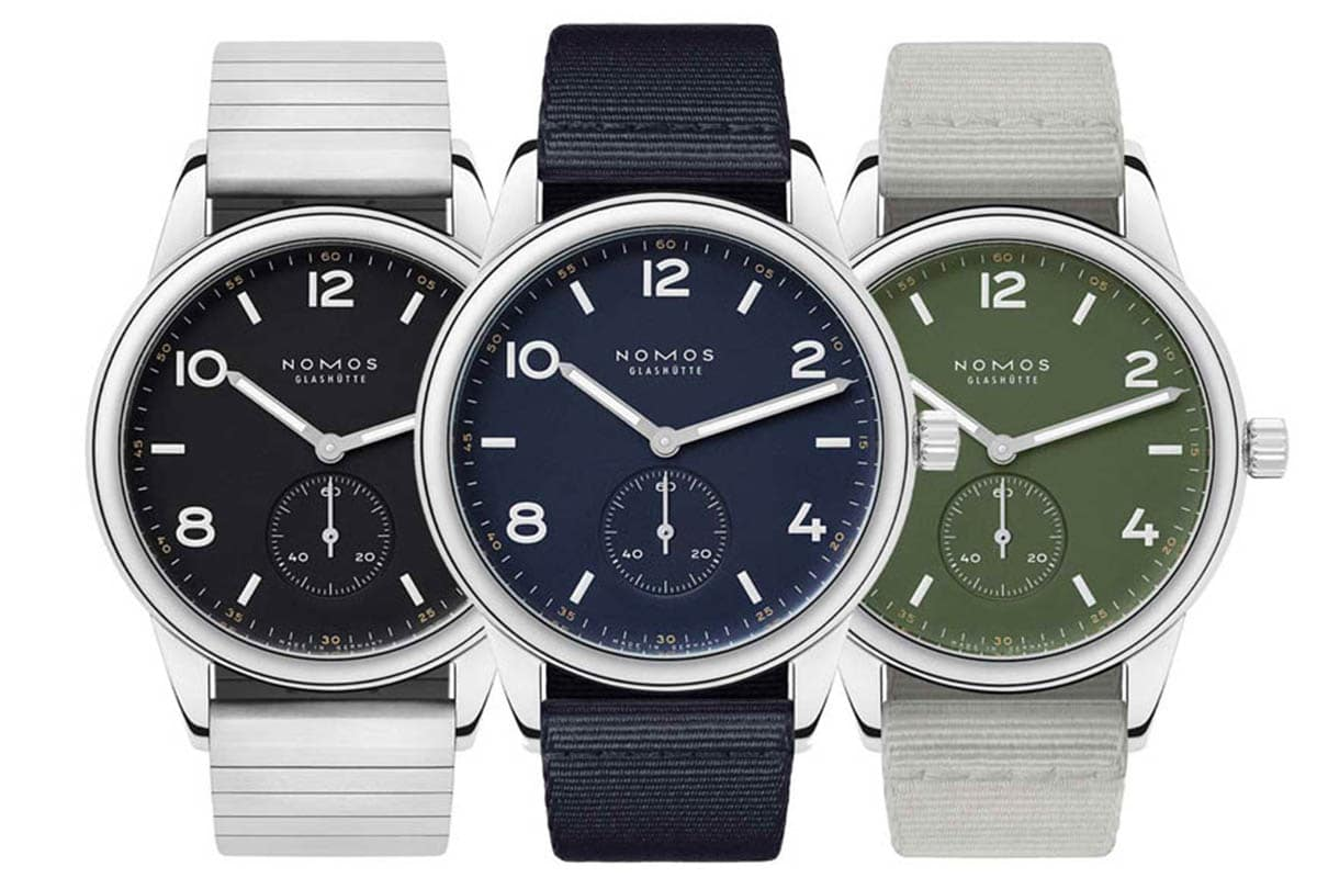 Nomos glashuutte releases three new limited editions