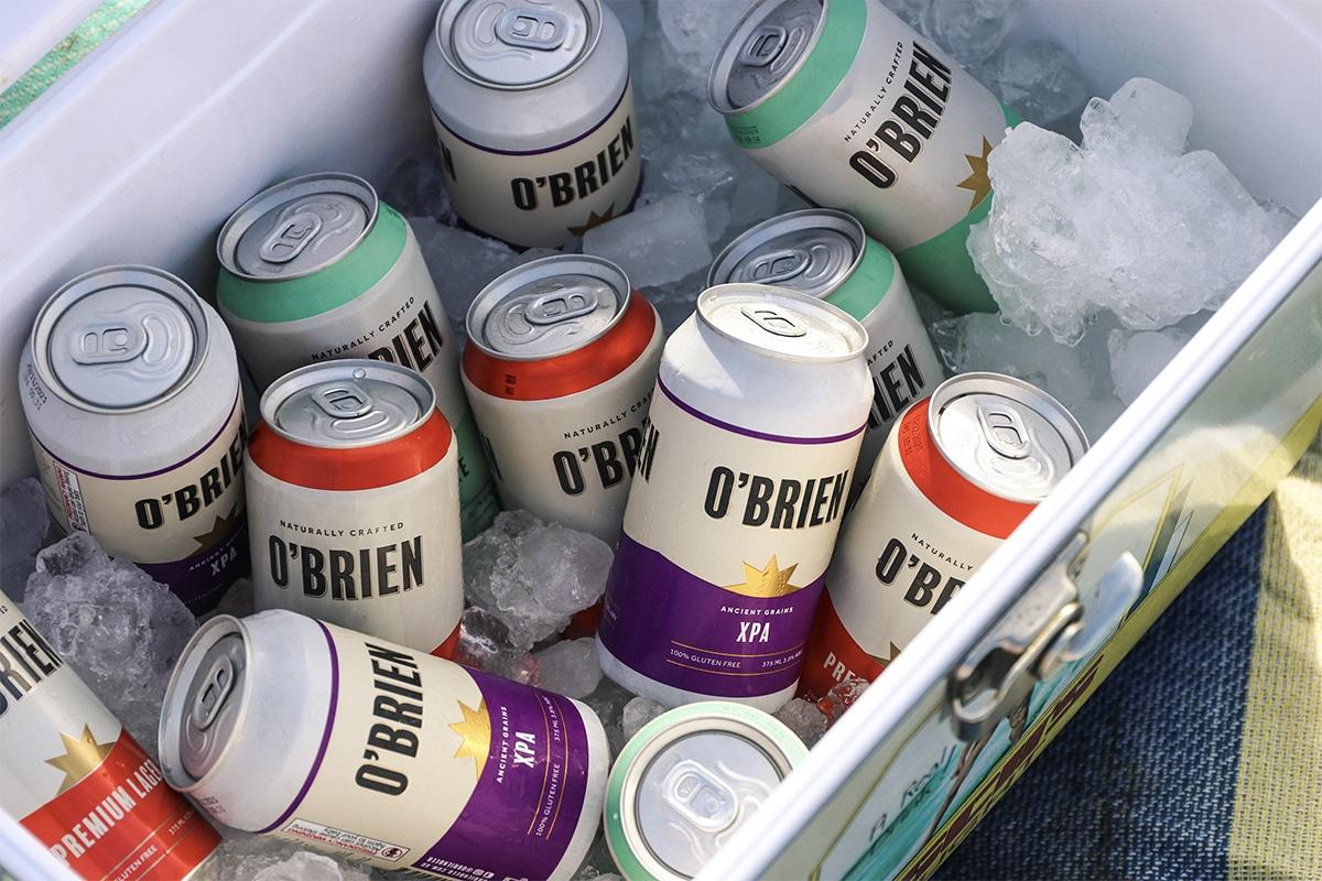 Obrien beer giveaway feature