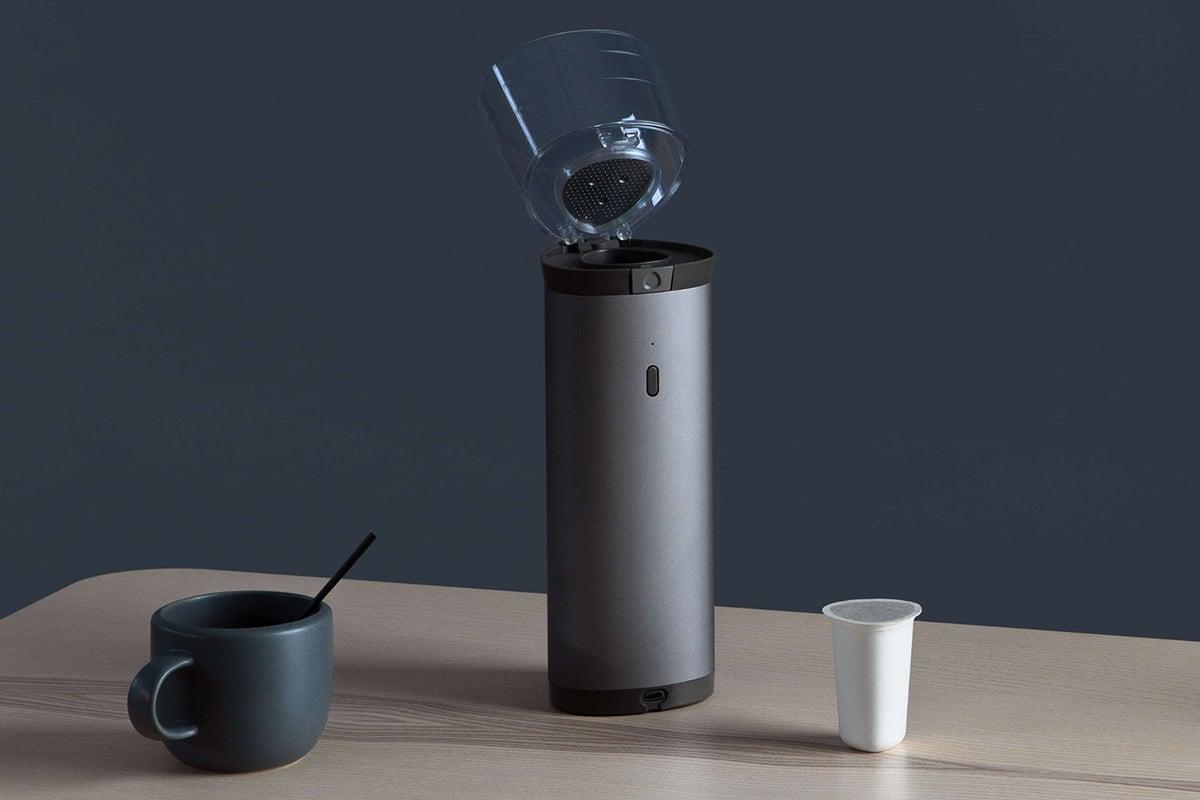 Osma coffee brewing