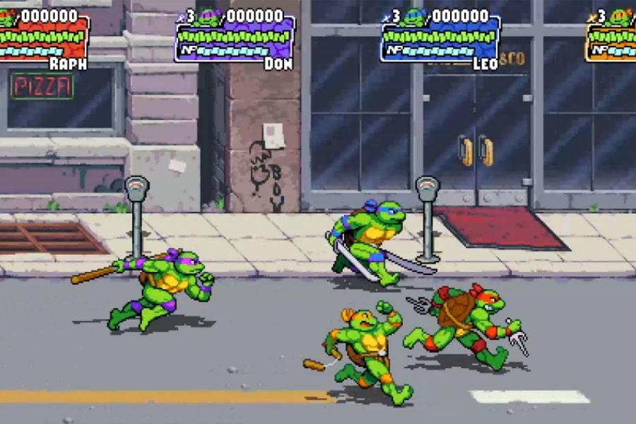 ninja turtles game