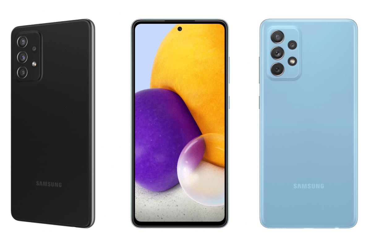 Samsung galaxy a series range