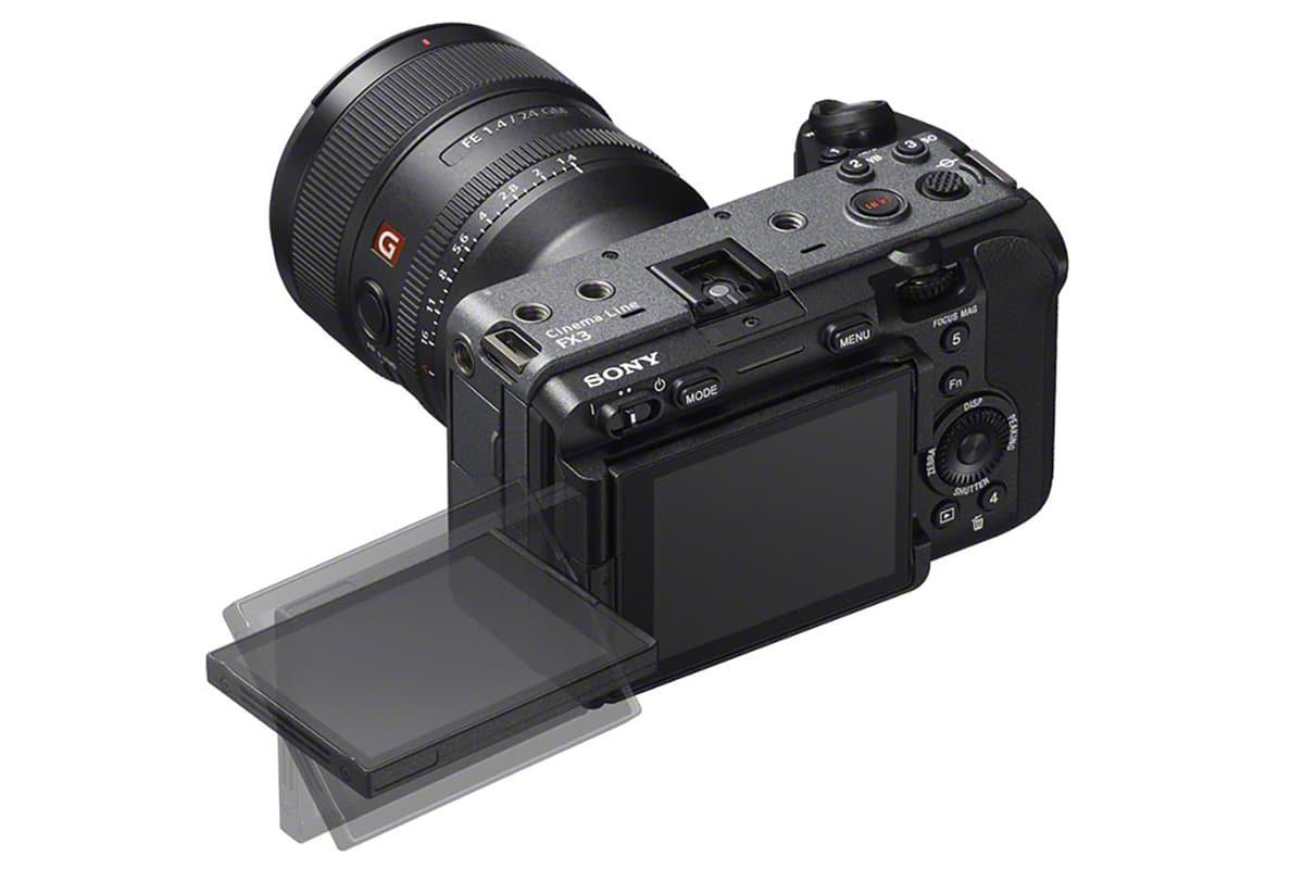 Sony fx3 cinema camera 3