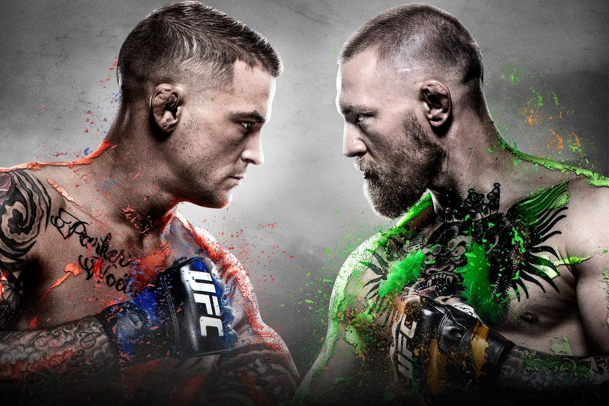 1 conor mcgregor dustin poirier fight