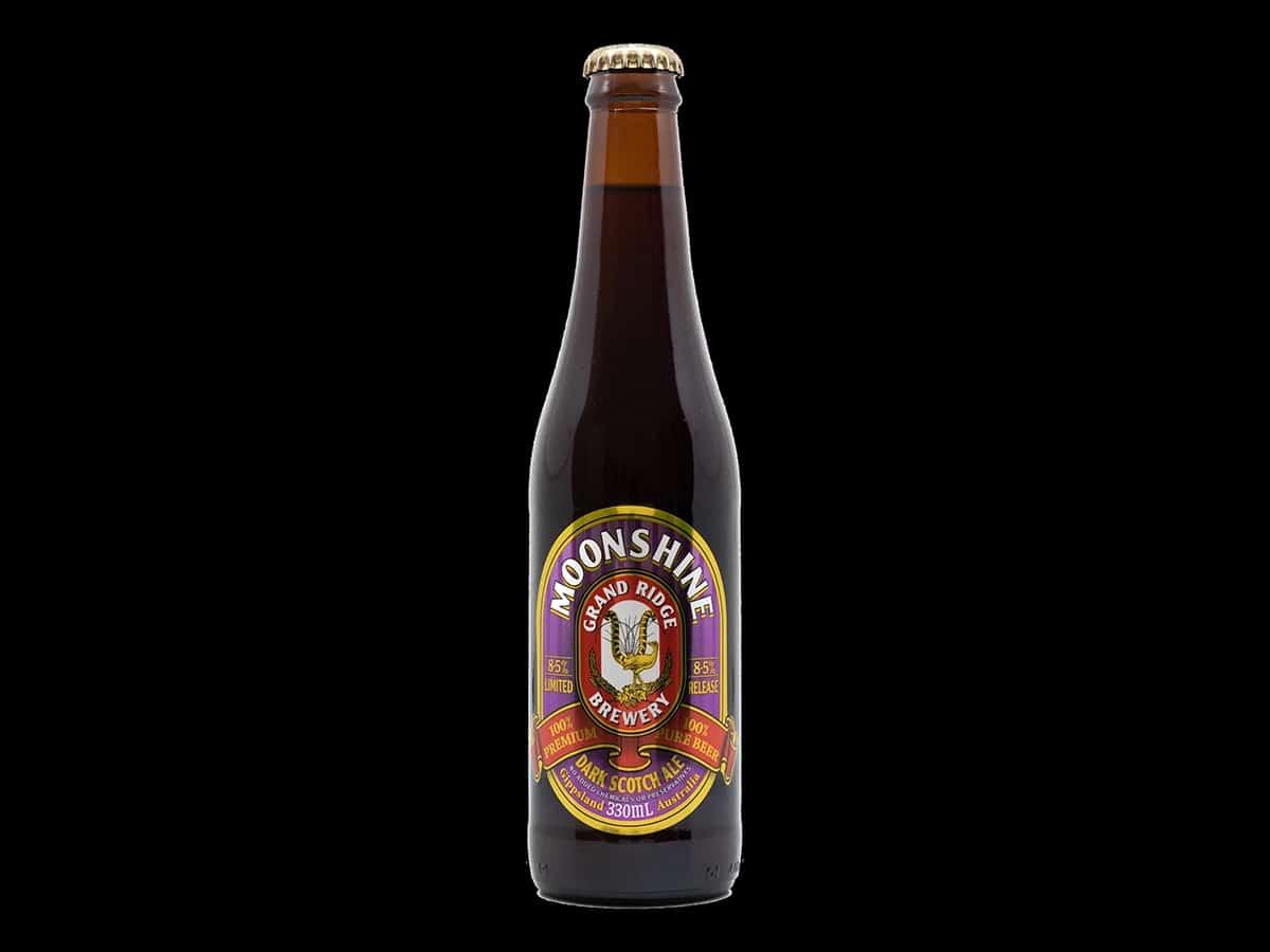 Grand Ridge Moonshine Dark Scotch Ale