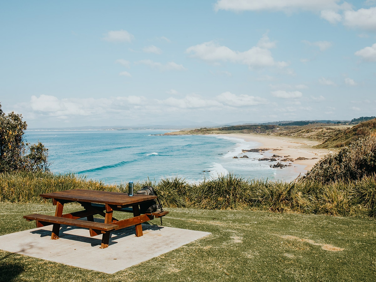 mystery bay campground lookout