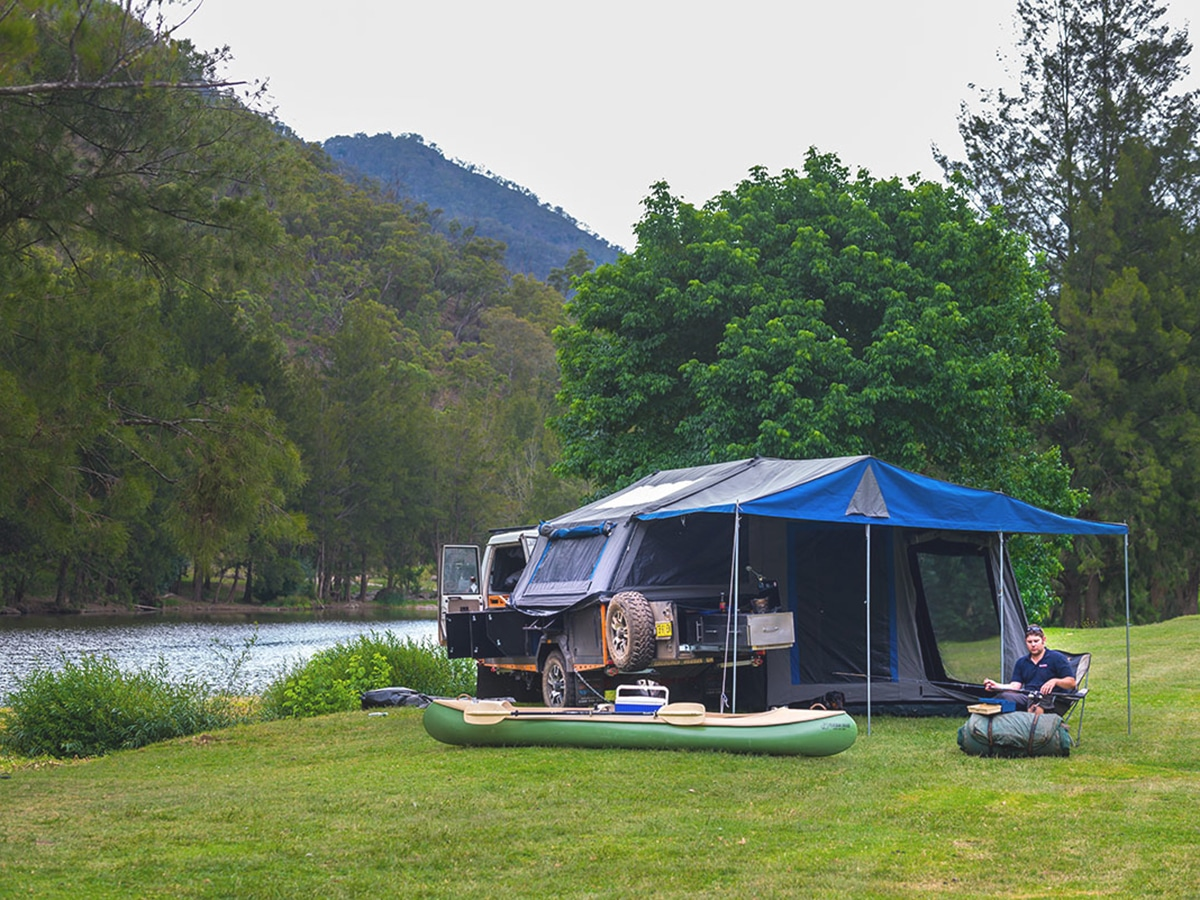 wollondilly river station camping