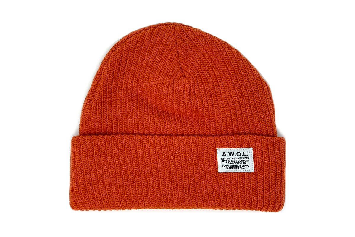 away without leave fisherman beanie