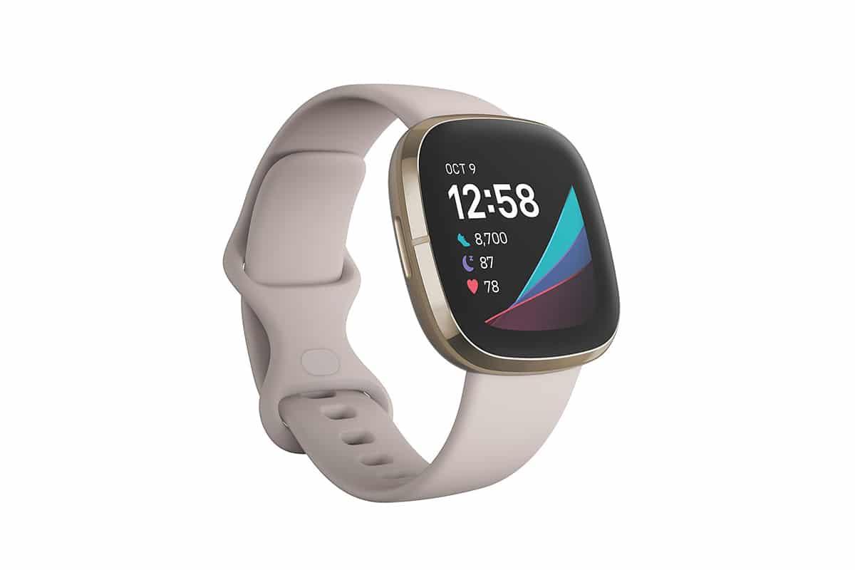 health smartwatch fitbit sense