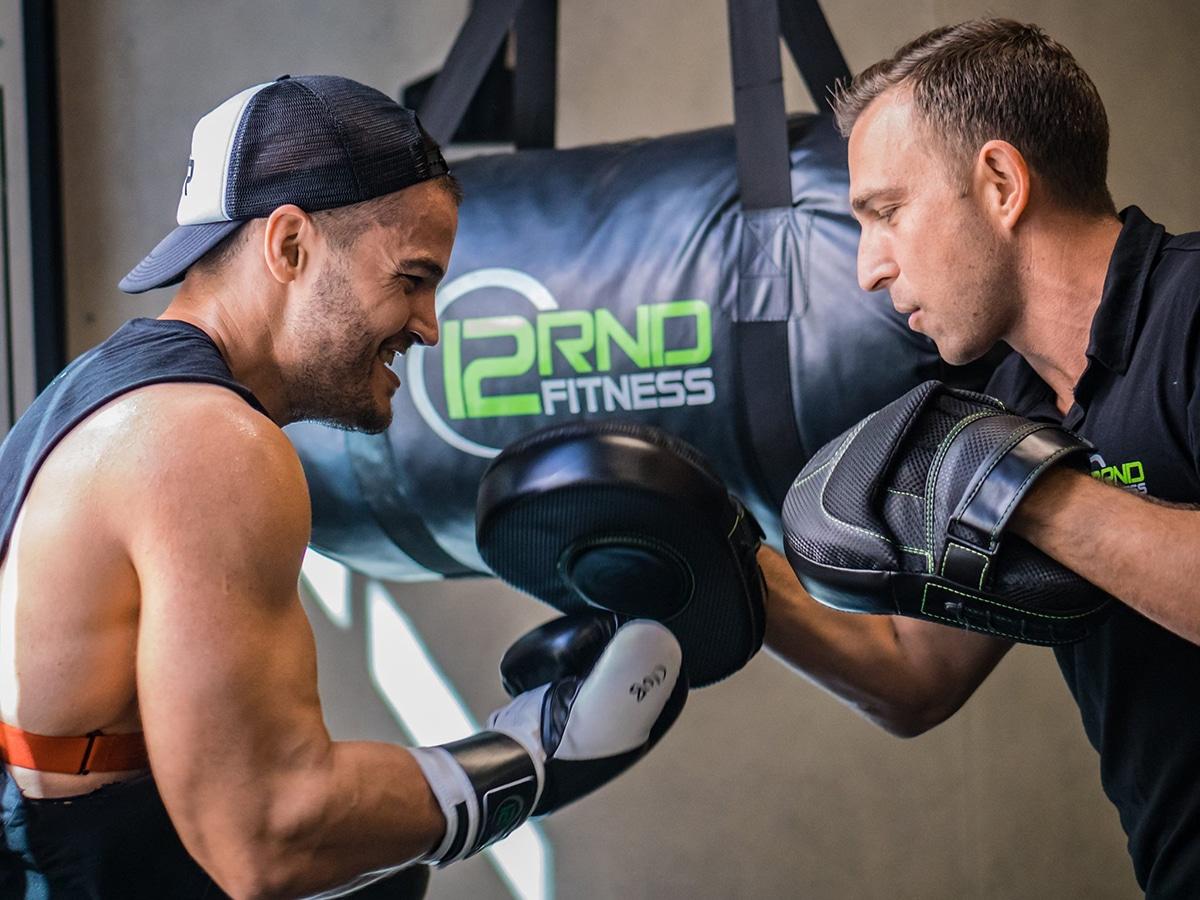 boxing training at 12RND Fitness