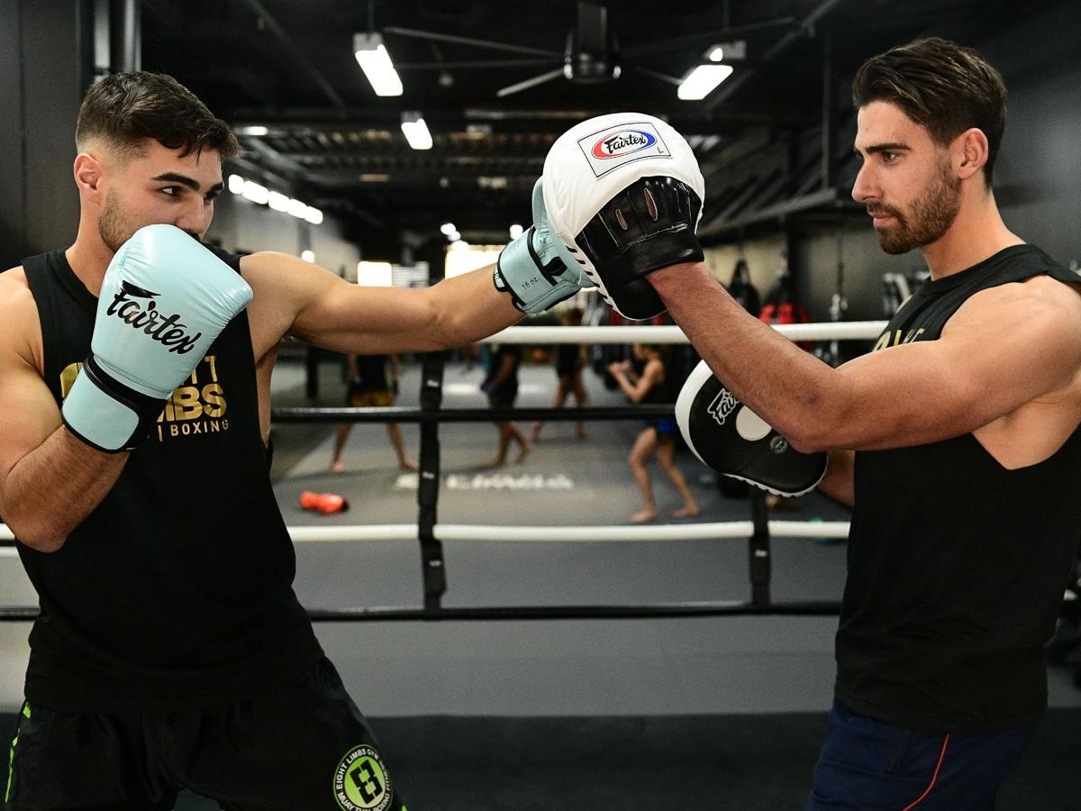 boxing training at 8 limbs bondi junction