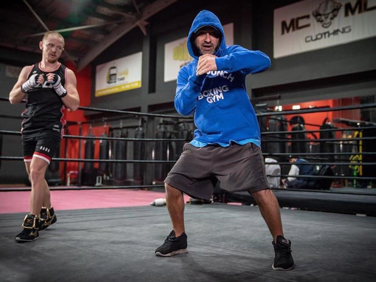 boxing training at bodypunch boxing gym lakemba