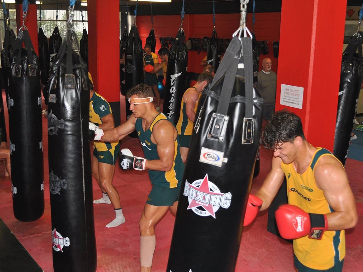 boxing training at boxing works gym