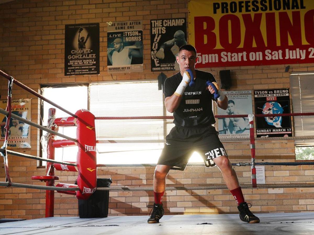 tim tszyu workout at tszyu boxing academy