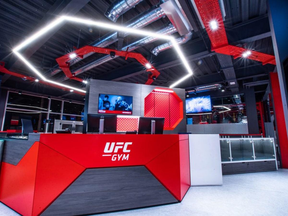 ufc gym alexandria interior