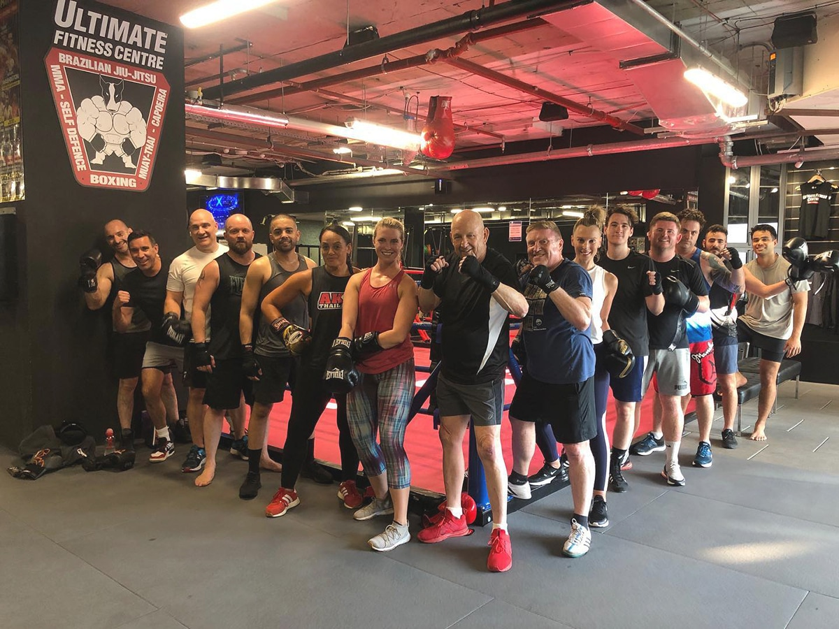boxing training at ultimate fitness centre cbd