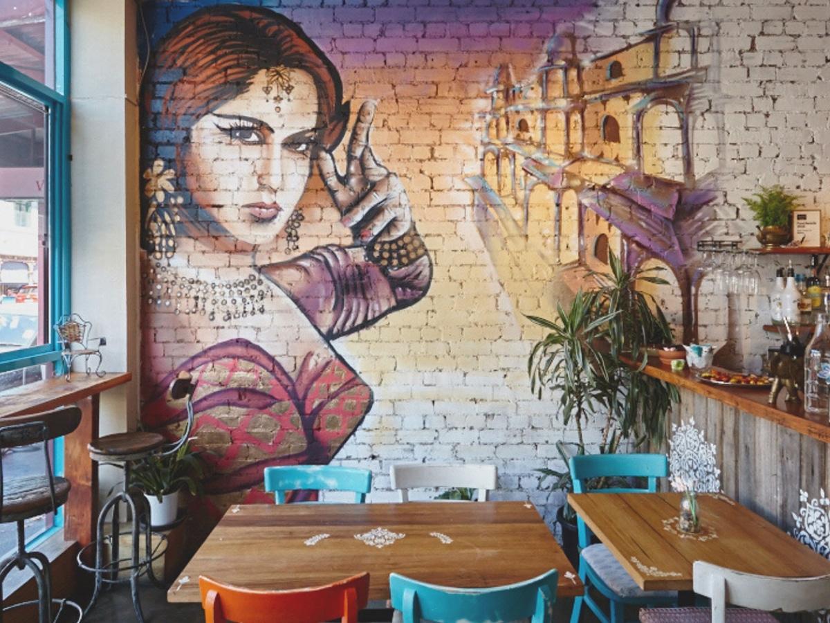 mukka restaurant interior