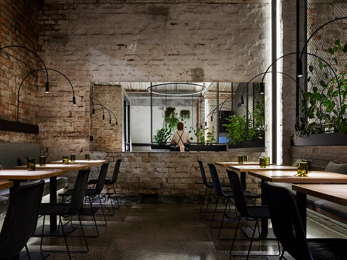 transformer restaurant interior