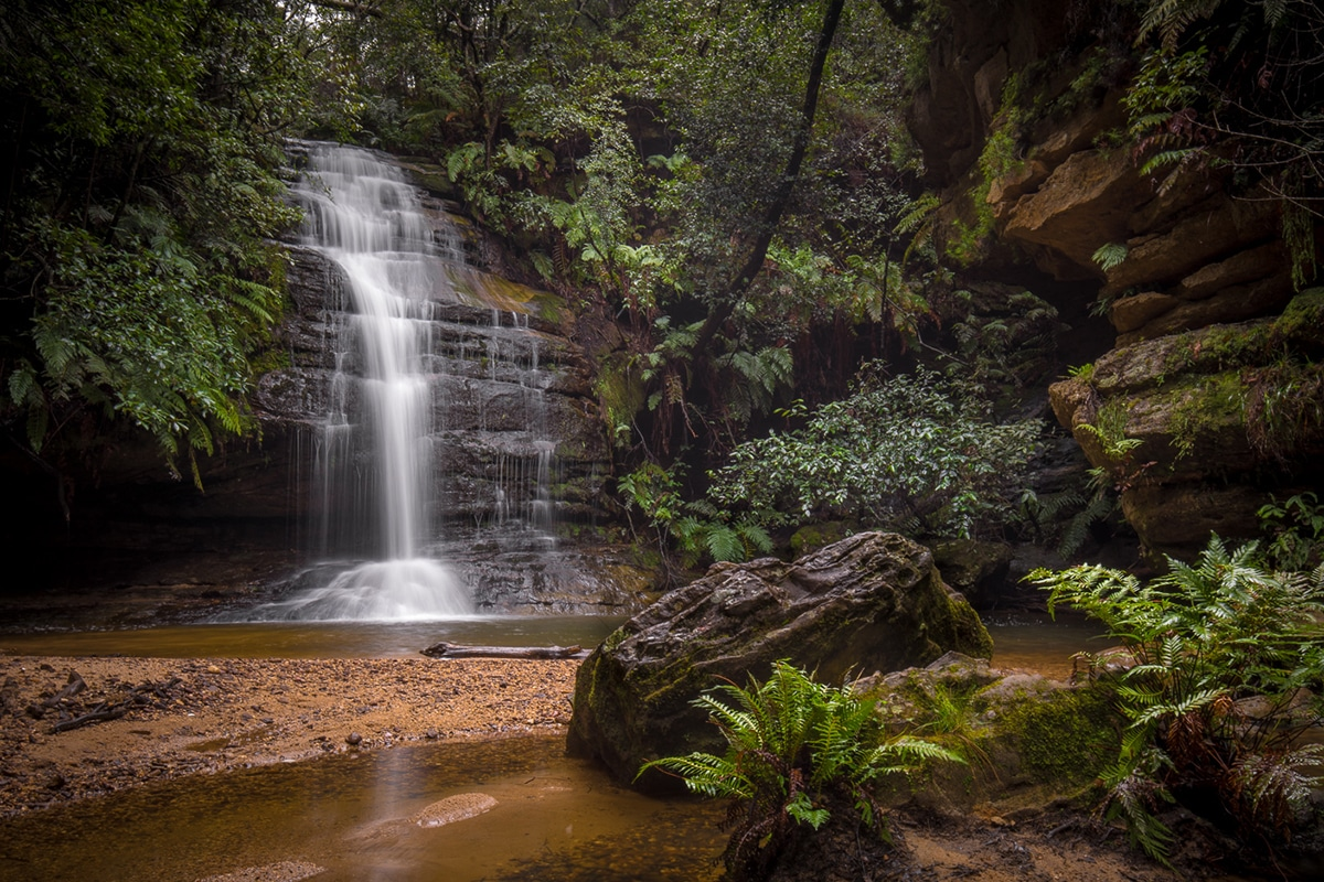 Waterfall Pool Of Siloam