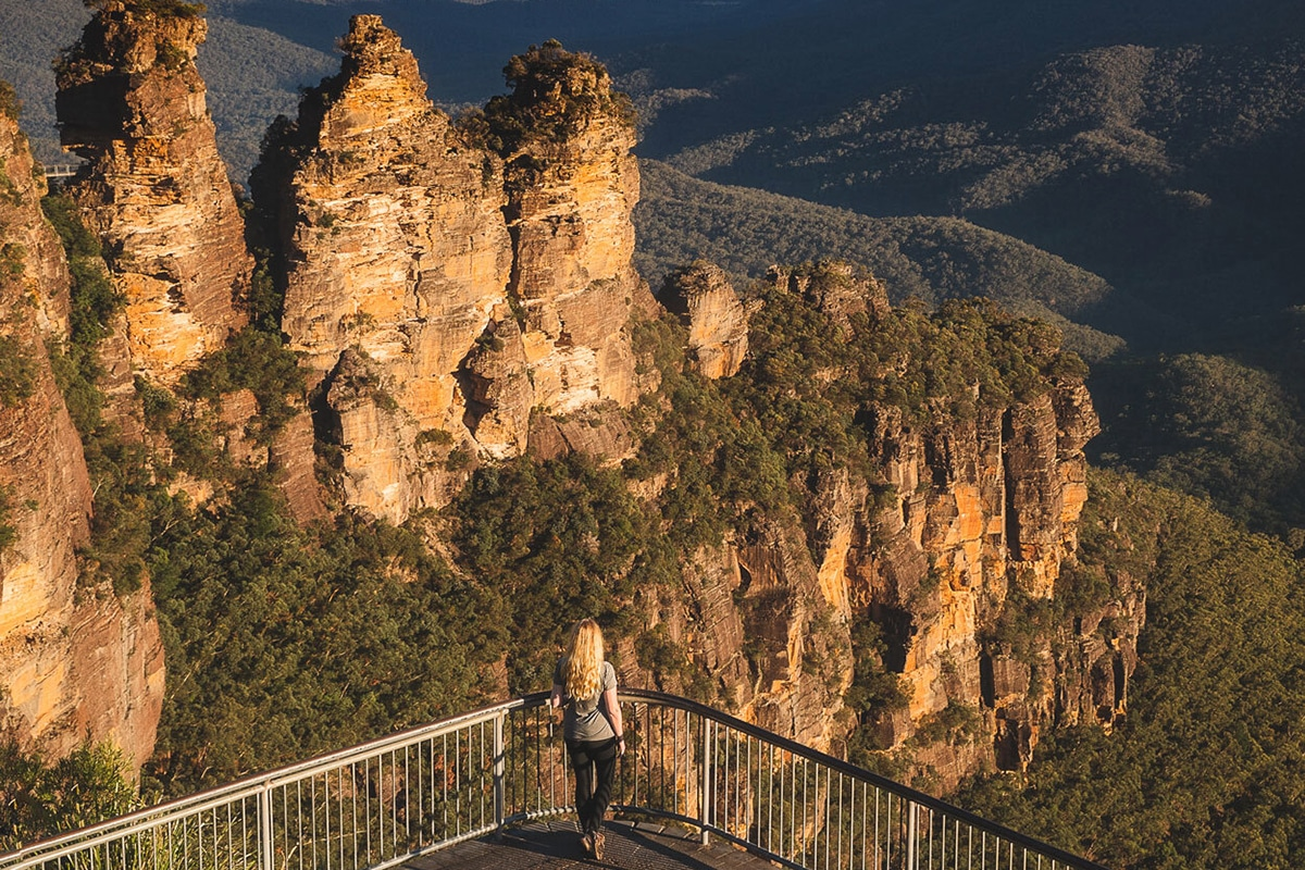 prince henry cliff lookout