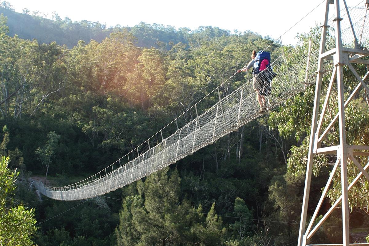 Bowtells Swing Bridge