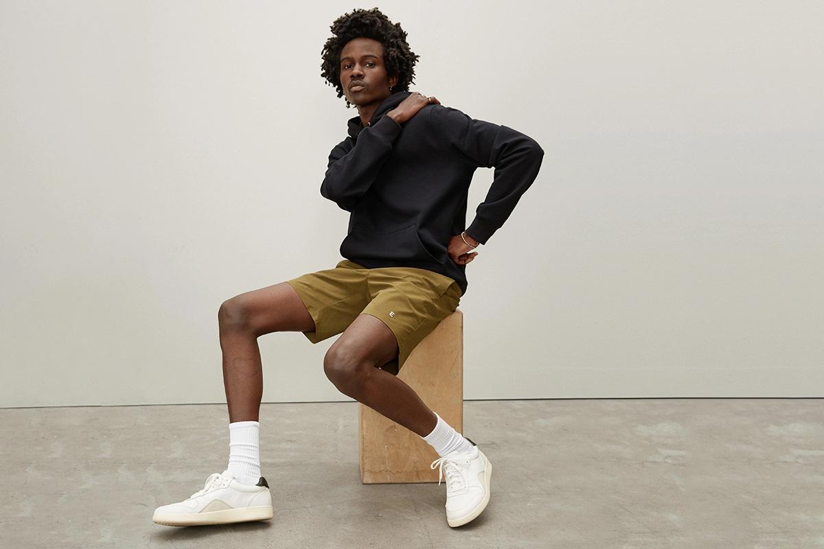 everlane men's activewear clothing