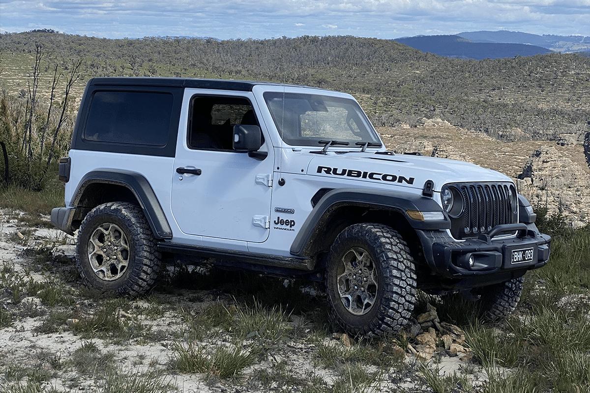 2020 jeep wrangler rubicon recon flexing
