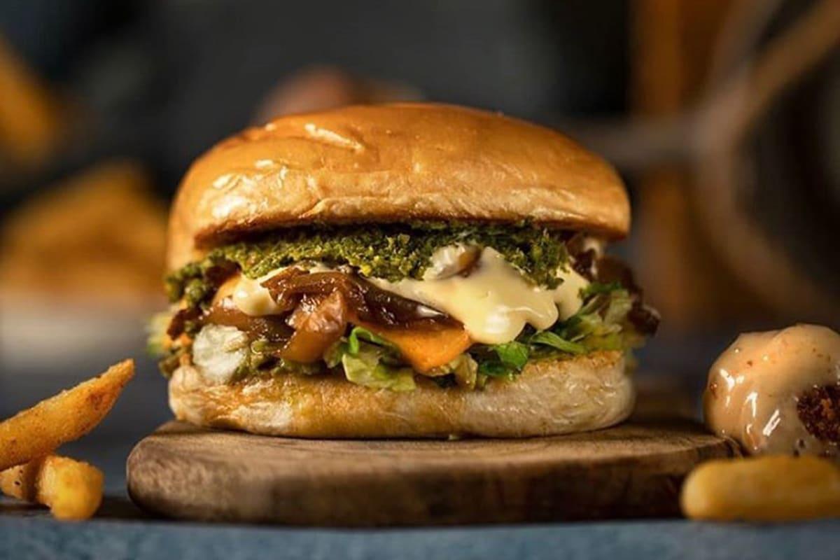 super combo burger