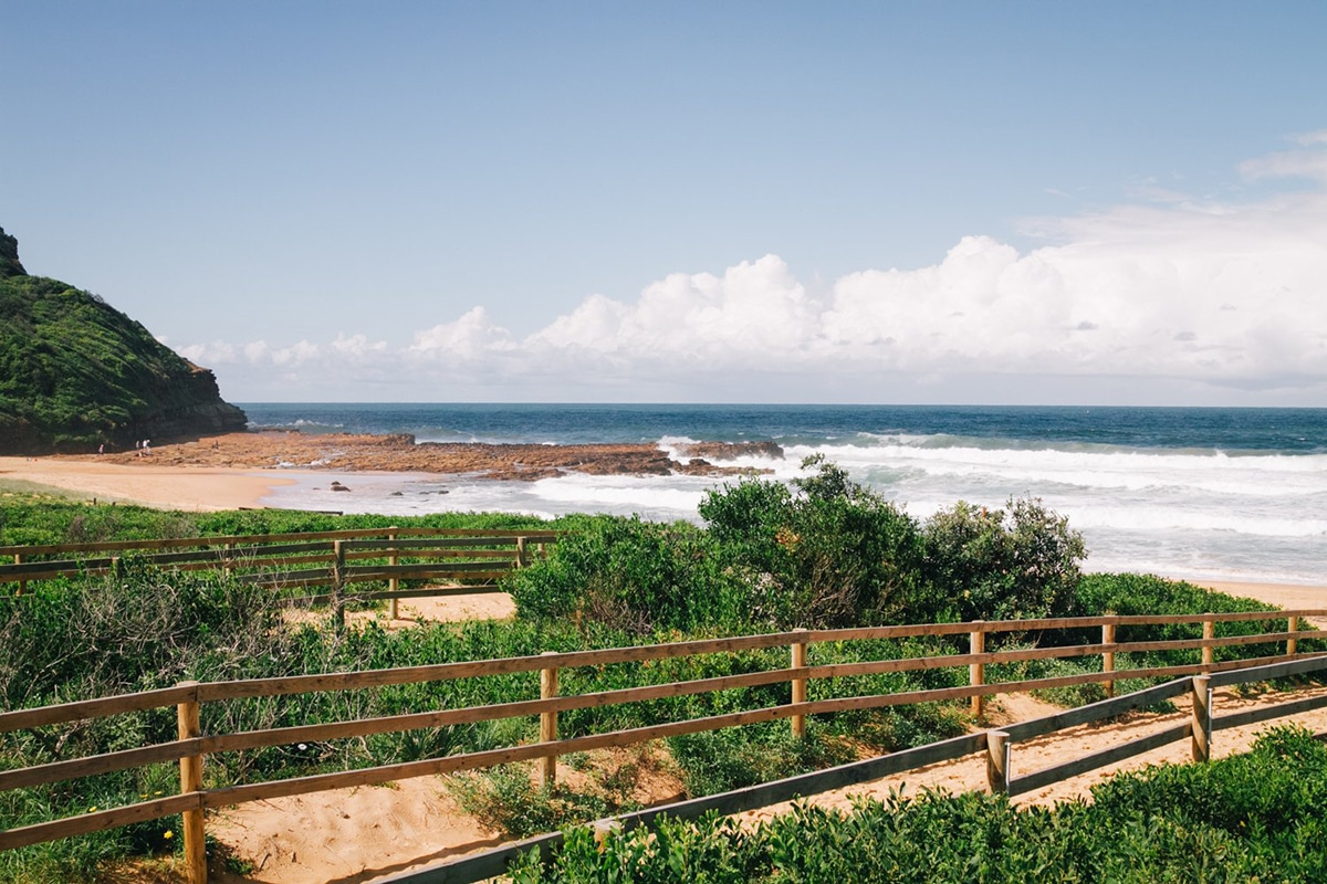 avoca oceacn beach view