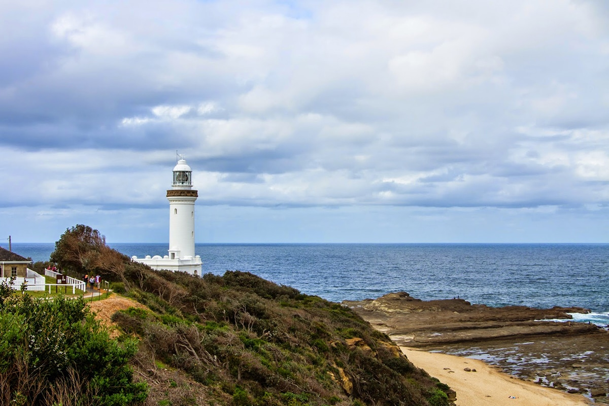 Norah Head Lighthouse at soldiers beach