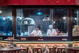 chinese restaurant open kitchen