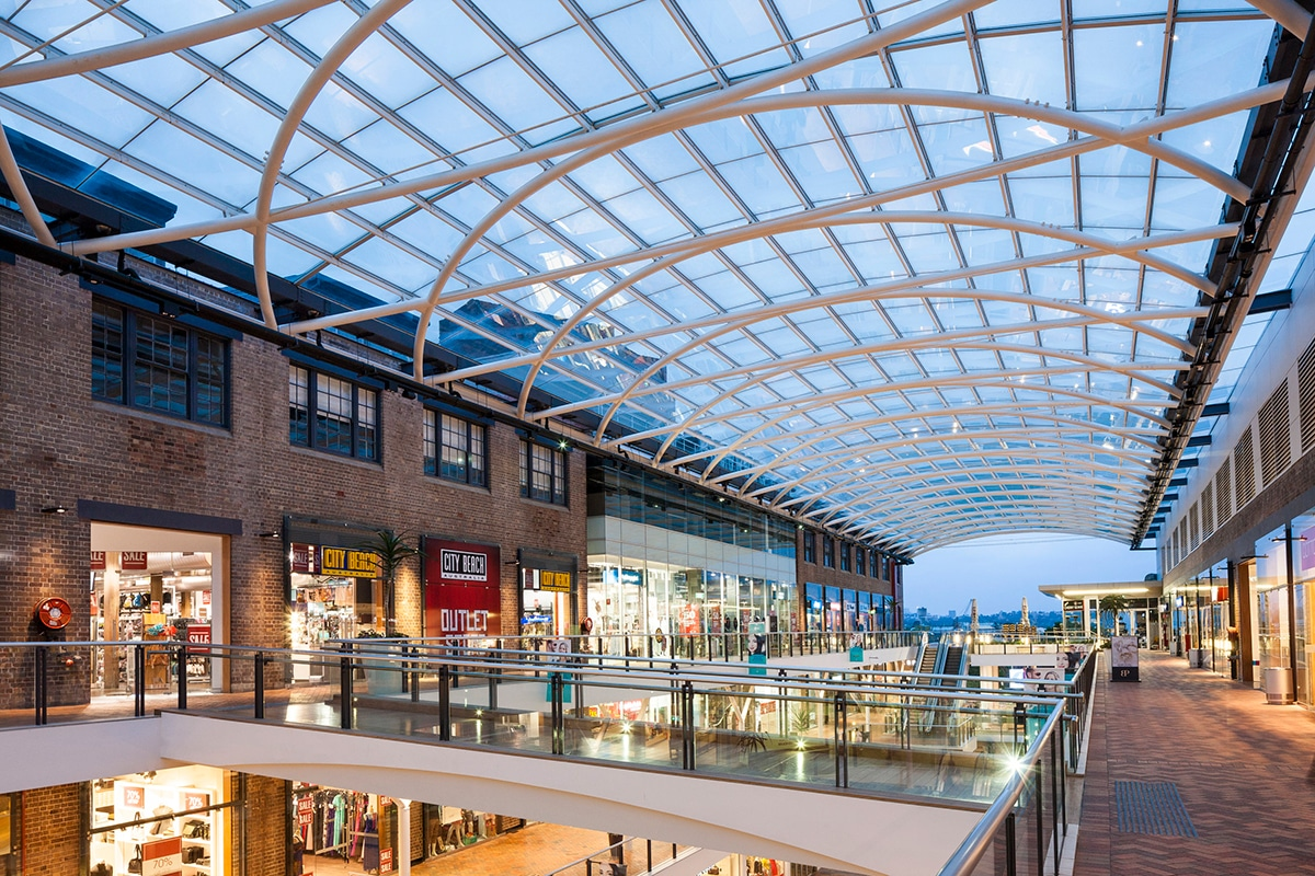 Birkenhead Point Brand Outlet shopping mall interior