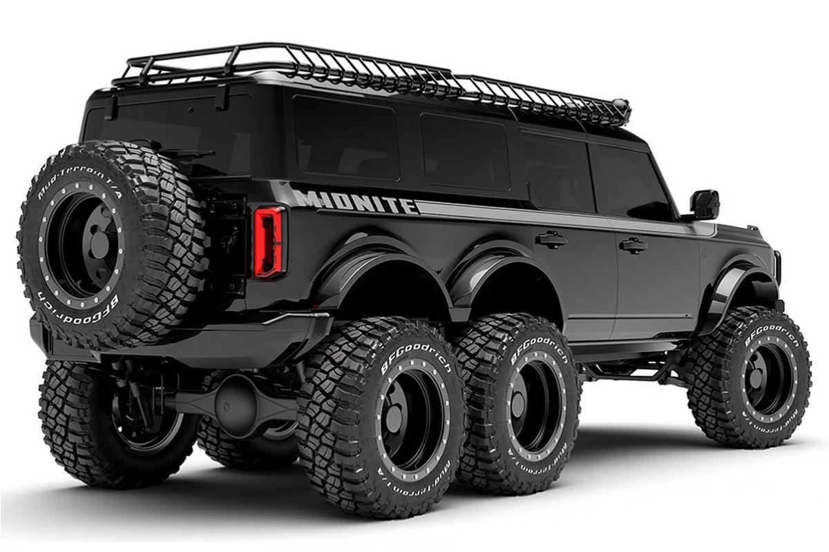 6 wheel 2021 ford bronco 1