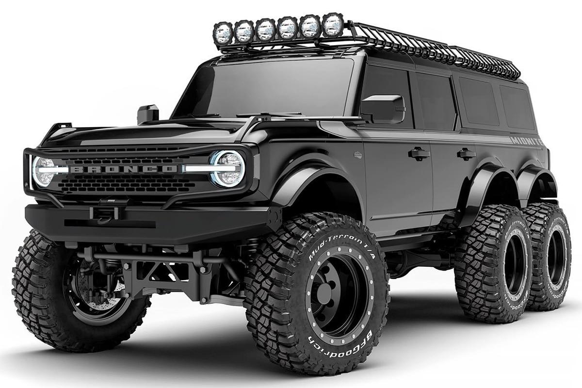 6 wheel 2021 ford bronco 2