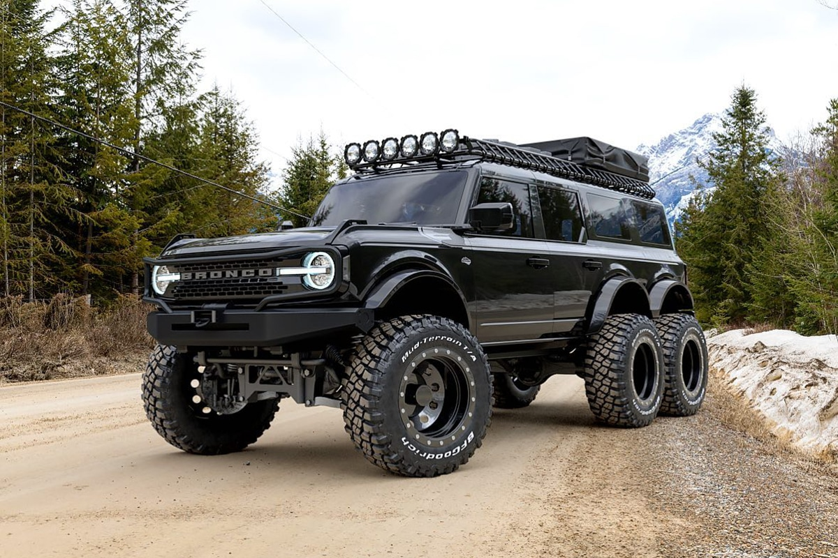 6 wheel 2021 ford bronco 4