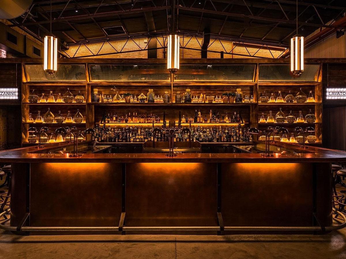 archie rose distilling co interior