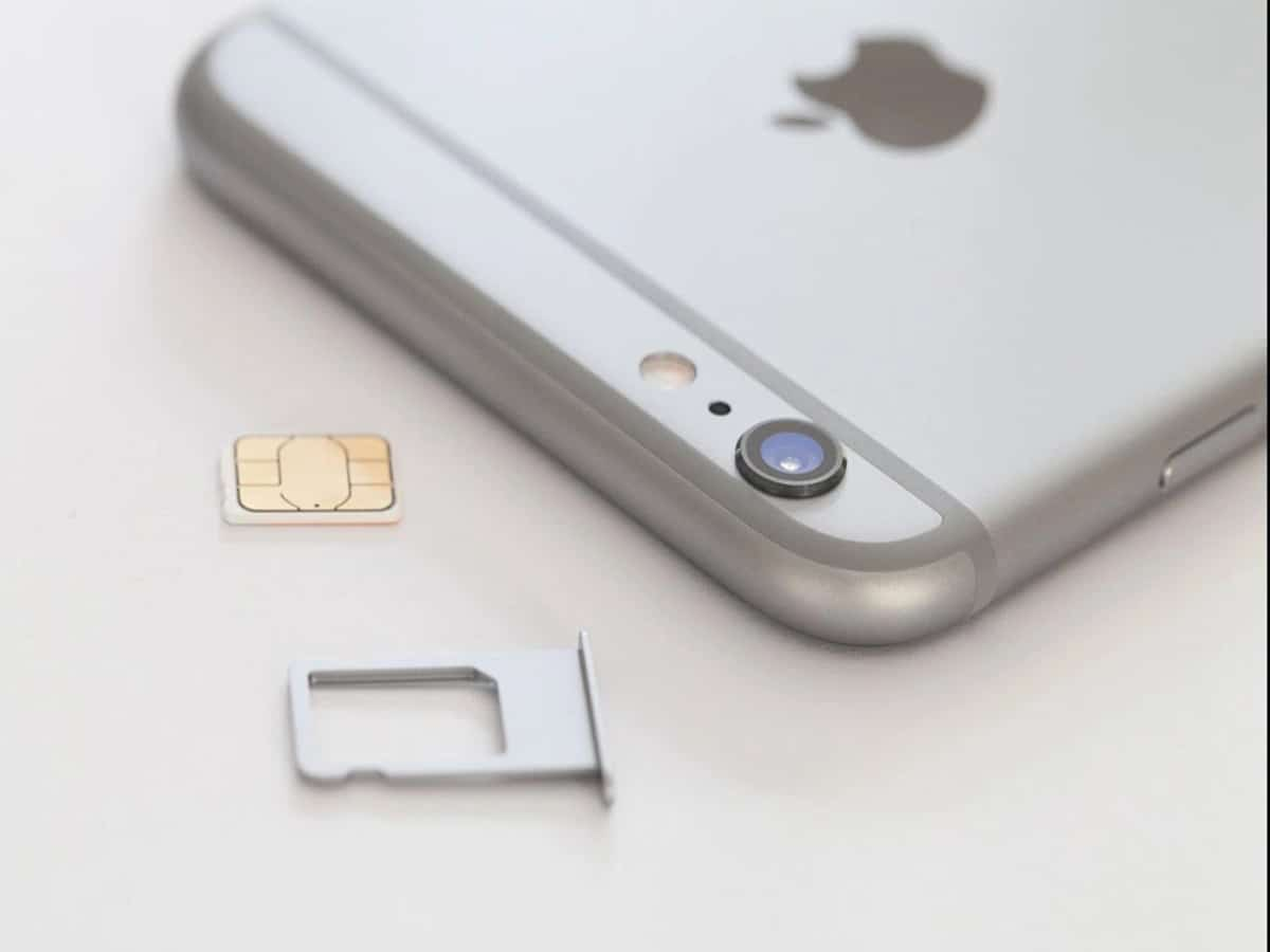 SIM Card Background for Apple Devices