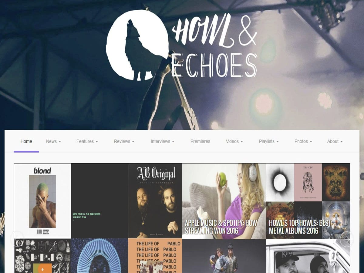Australian music blogs howl and echoes