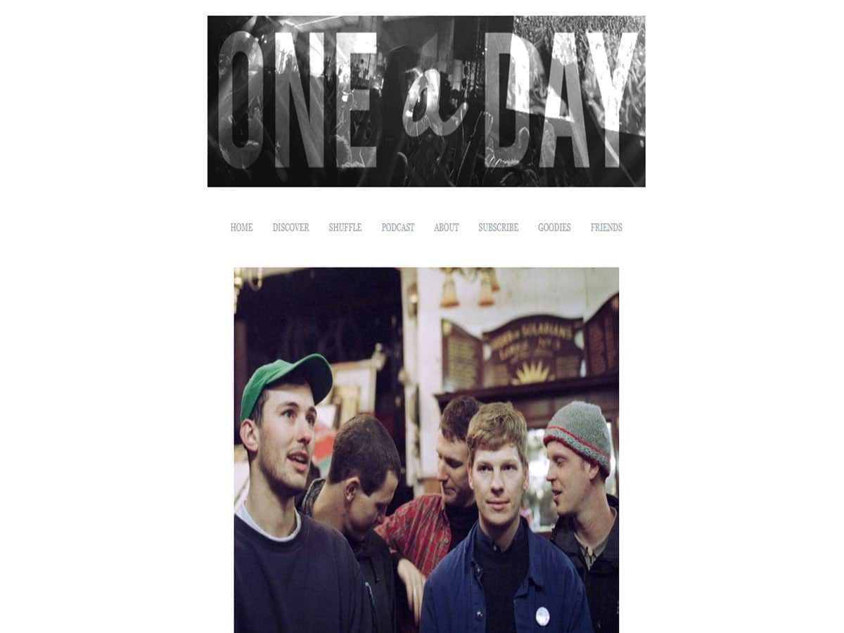 Australian music blogs one song a day