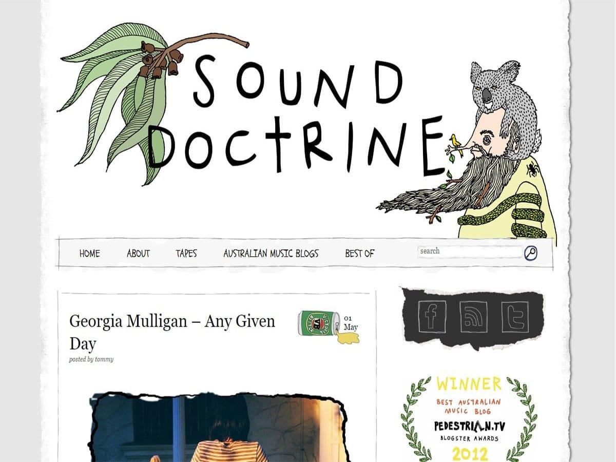 Australian music blogs the sound doctrine