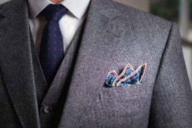Australias biggest instagrammers tell us how to fold a pocket square
