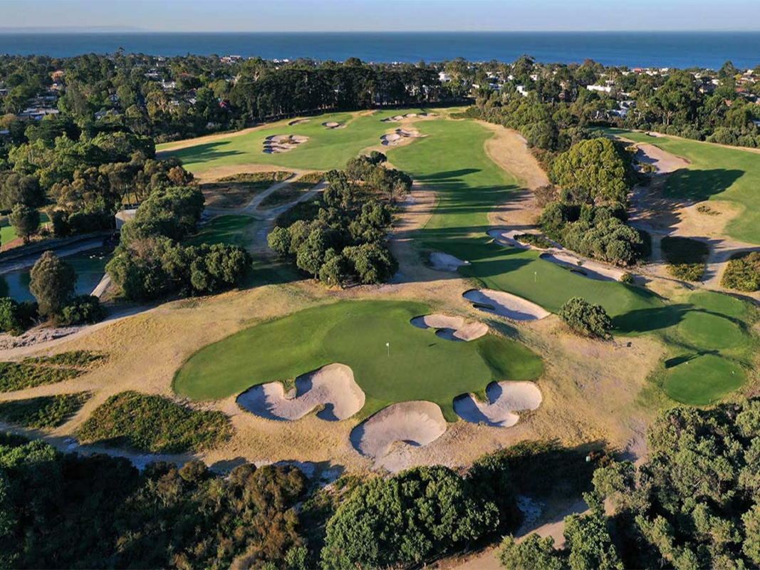 Best melbourne golf courses and clubs